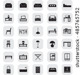 furniture and home decor icon... | Shutterstock .eps vector #485765752