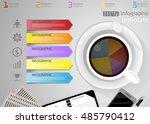 vector illustration infographic ... | Shutterstock .eps vector #485790412