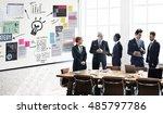 plan planning strategy business ... | Shutterstock . vector #485797786