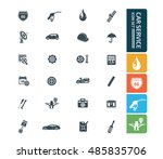 car service and repair icon... | Shutterstock .eps vector #485835706