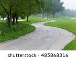 golf course | Shutterstock . vector #485868316
