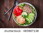 Healthy Salad Bowl With Quinoa...