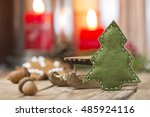 christmas decoration | Shutterstock . vector #485924116