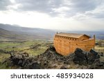 Noah's Ark On Ararat Mountain ...