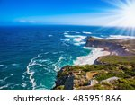 cape of good hope in the... | Shutterstock . vector #485951866