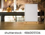 White Label On The Table. Used...