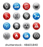 science web icons    gel pro... | Shutterstock .eps vector #48601840