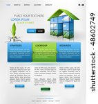 web design vector template