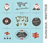 christmas  | Shutterstock .eps vector #486075028