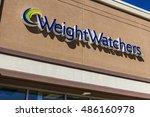 Small photo of Ft. Wayne - Circa September 2016: Weight Watchers Meeting Location. Oprah Winfrey is a Weight Watchers Spokesperson and Stockholder I