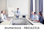 business  people and teamwork... | Shutterstock . vector #486162316