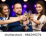 party  holidays  celebration ... | Shutterstock . vector #486244276
