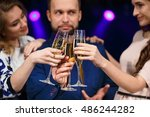 party  holidays  celebration ... | Shutterstock . vector #486244282