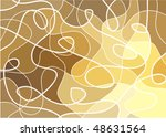 abstract geometric mosaic... | Shutterstock .eps vector #48631564