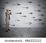 look ahead | Shutterstock . vector #486322222