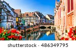 beautiful view of colorful... | Shutterstock . vector #486349795