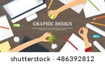 graphic and web design...
