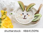 Easter Bunny Rabbit Porridge...