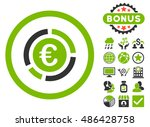euro financial diagram icon... | Shutterstock .eps vector #486428758