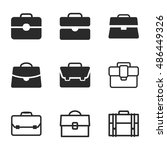case vector icons. simple...