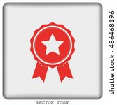 medal  reward  honor  icon | Shutterstock .eps vector #486468196