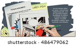 stock illustration. people in...   Shutterstock .eps vector #486479062