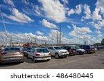 saint malo  france   circa june ... | Shutterstock . vector #486480445