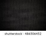black expanded metal plates...   Shutterstock . vector #486506452