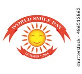 world smile day illustration | Shutterstock .eps vector #486513862