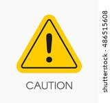 caution icon   sign in flat...