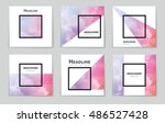 abstract vector layout... | Shutterstock .eps vector #486527428