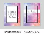 abstract vector layout... | Shutterstock .eps vector #486540172