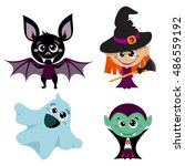vector characters and icons for ... | Shutterstock .eps vector #486559192