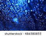 blue bokeh | Shutterstock . vector #486580855