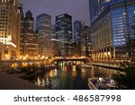 Chicago River View From The...