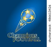 champions league football match.... | Shutterstock .eps vector #486613426