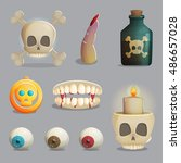 A Collection Of Scull Based...
