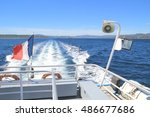 French Tricolour Flag Flying O...