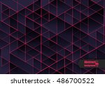 abstract background with... | Shutterstock .eps vector #486700522