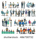 consulting  training  office ... | Shutterstock . vector #486730732