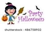 vector illustration of... | Shutterstock .eps vector #486758932