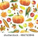 Thanksgiving Seamless Pattern...