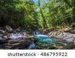 blue creek | Shutterstock . vector #486795922