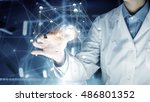 innovative technologies in... | Shutterstock . vector #486801352