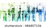 skills training programmes and... | Shutterstock . vector #486807136