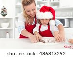 the way we make christmas...   Shutterstock . vector #486813292