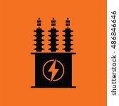 Electric Transformer Icon....