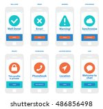 mobile app wireframe ui kit....