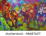 Original Oil Painting On Canva...