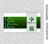 medical card corporate identity | Shutterstock .eps vector #486955396